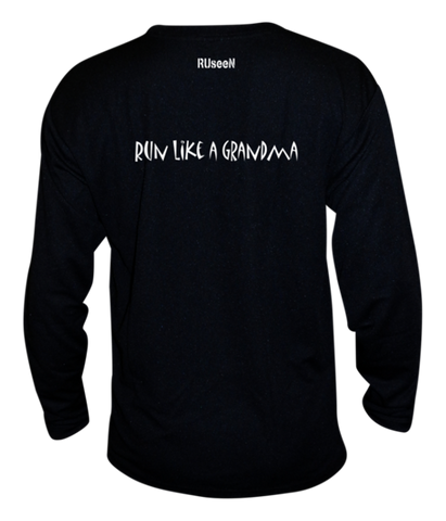 Unisex Reflective Long Sleeve - Run Like a Grandma