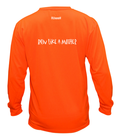 Unisex Reflective Long Sleeve - Run Like a Mother