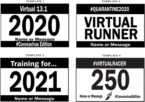 virtual bib shirt templates
