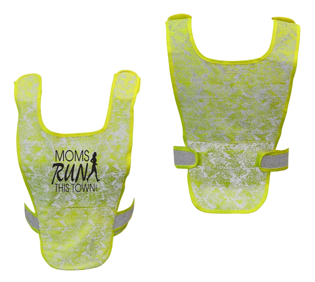 Reflective Running Vest – Moms Run This Town