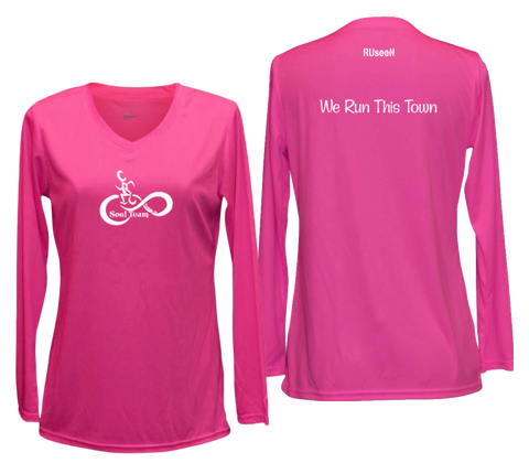 Women's Reflective Long Sleeve Shirt - Soul Team - Town