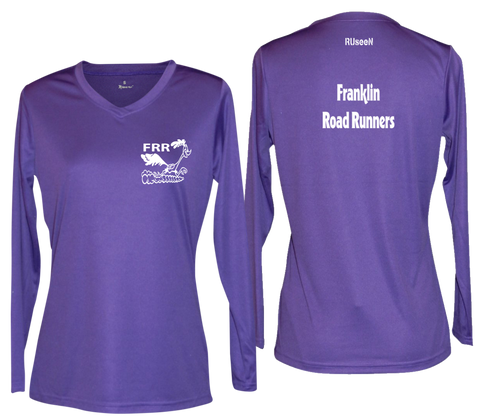 Women's Reflective Long Sleeve - Franklin Road Runners