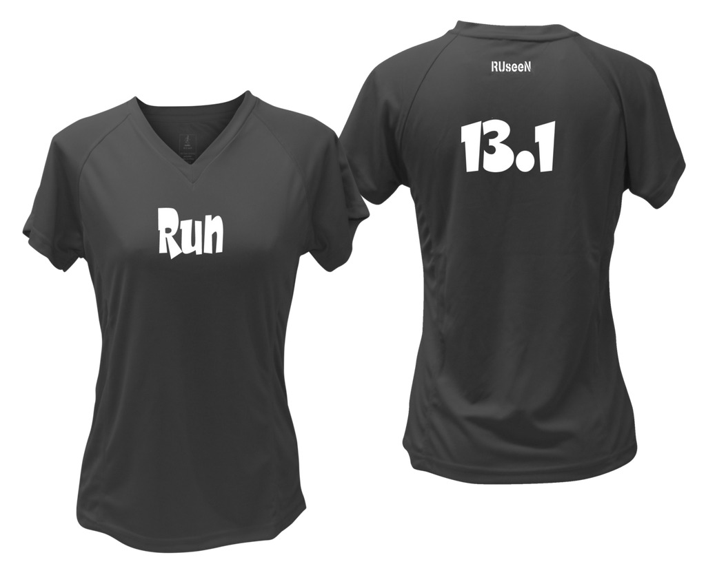 Women's Reflective Short Sleeve Shirt – Run 13.1
