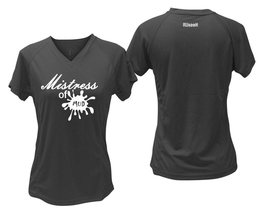 Women's Reflective Short Sleeve Shirt – Mistress of Mud