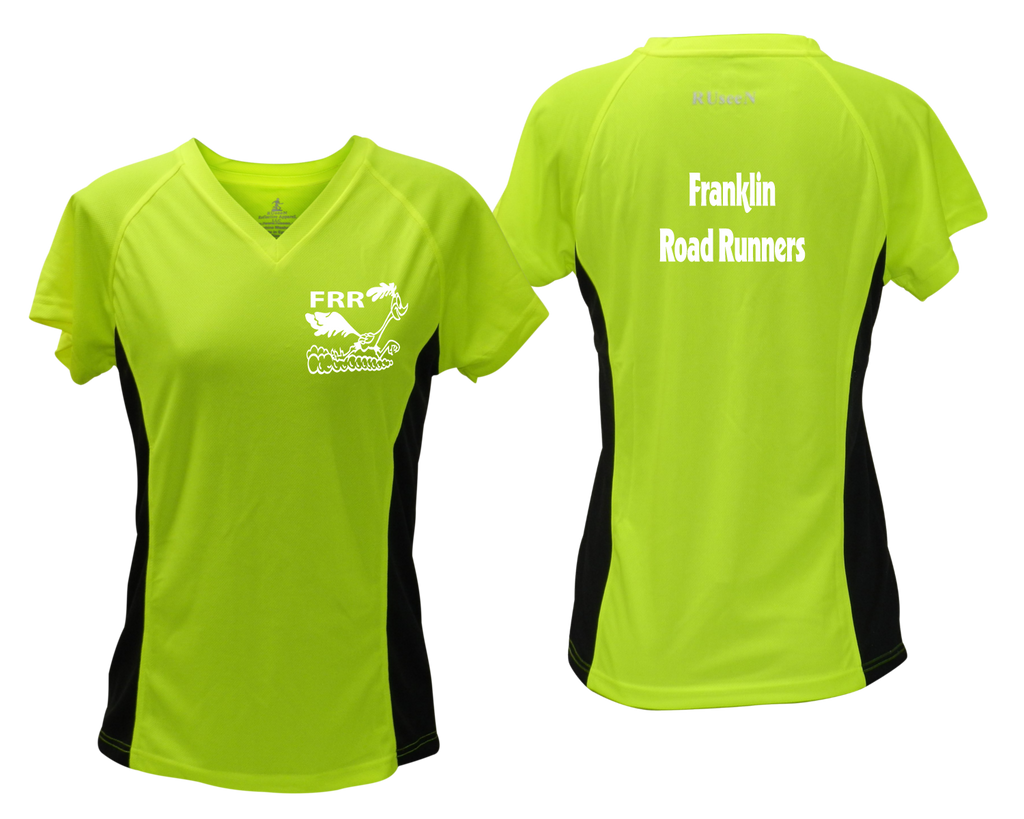Women's Reflective Short Sleeve Shirt - Franklin Road Runners