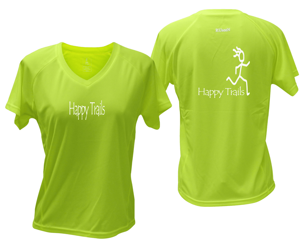 Women's Reflective Short Sleeve Shirt – Happy Trails