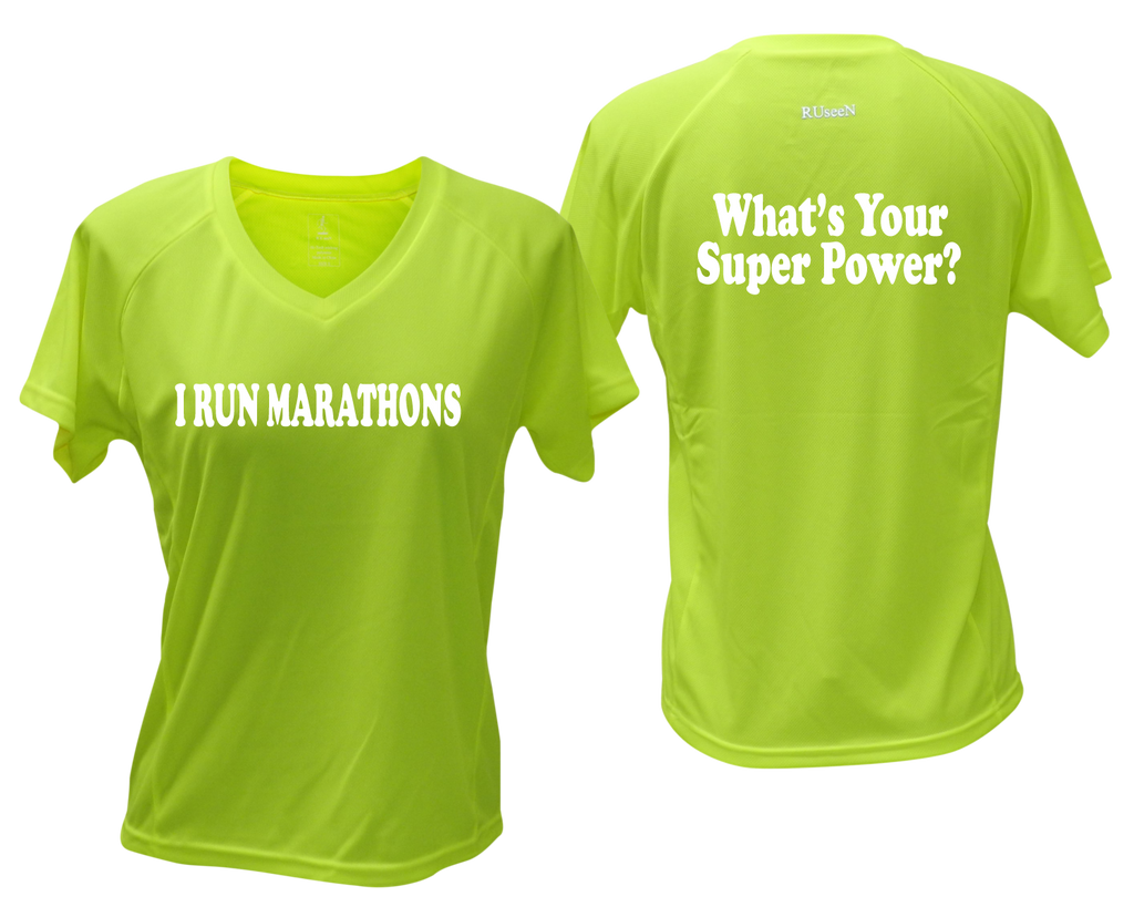 Women's Reflective Short Sleeve Shirt – Super Power