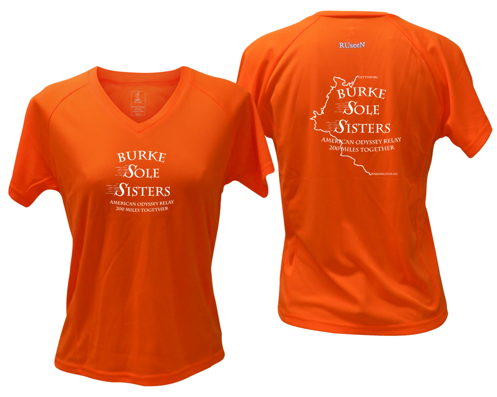 Women's Reflective Short Sleeve Shirt - Burke Sole Sisters