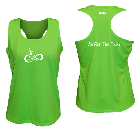 Women's Reflective Tank Top - Soul Team - Town