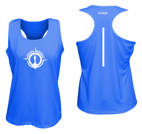 Women's Reflective Tank Top - South Franklin (TN) Runners