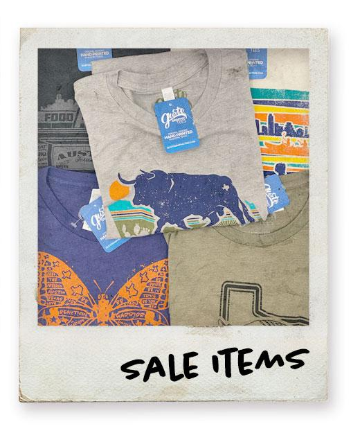 Gusto Graphic Tees Sale Items