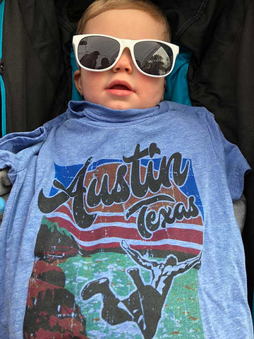 gusto graphic tees customer austin, texas t-shirt