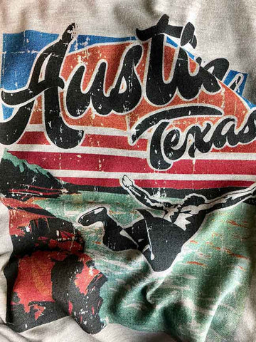 Austin Texas t-shirt by gusto graphic tees