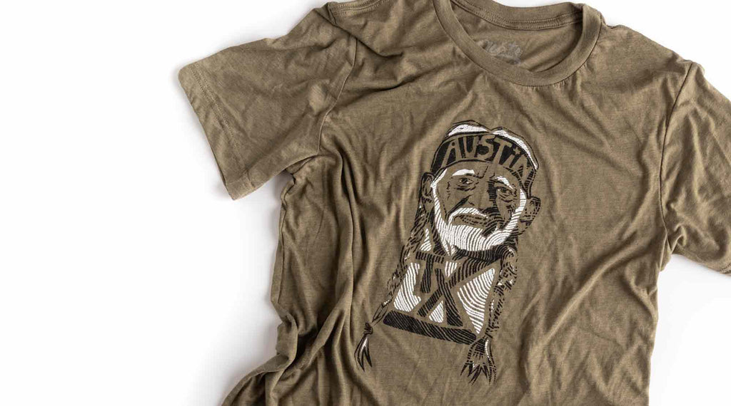 Willie Nelson graphic t shirt by gusto graphic tees, Willie Nelson tee, texas t shirts, texas tee