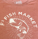 fish market custom tee
