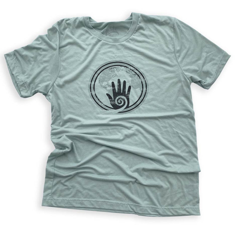 Healing Hands, graphic  t-shirt by Gusto Graphic Tees, healers, miracle workers, meditation t-shirt, healer, light worker, reiki t-shirt, graphic tee, graphic t shirt, cool graphic t shirt, cool t shirt, cool graphic tee