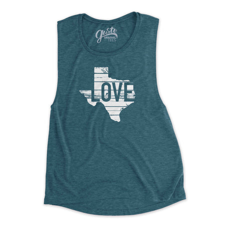 I Love Texas BBQ Baseball T-shirt