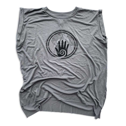 Healing Hands T-shirt COVID-19 Coronavirus relief muscle tank by Gusto Graphic Tees