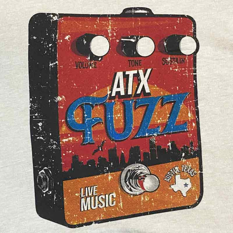 Austin Fuzz Box Graphic T-shirt