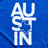 austin texas t shirt by Gusto Graphic Tees, austin texas t-shirt, texas graphic tee, texas tee, austin t shirt, texas t shirt, texas tee, graphic t shirt