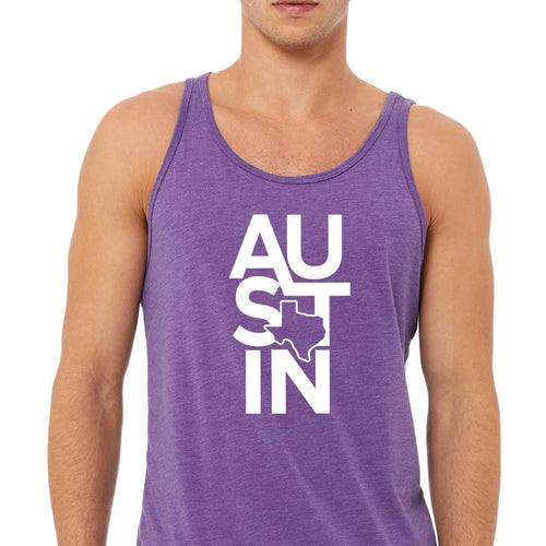 AU-ST-IN Graphic Unisex Jersey Tank
