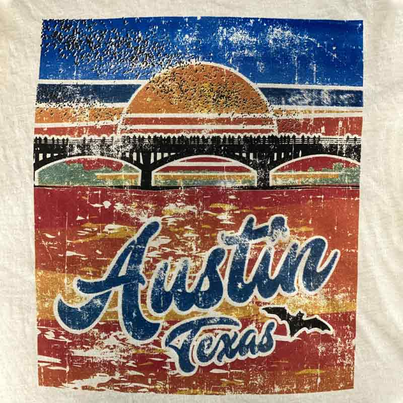 Austin Bat Bridge T-shirt