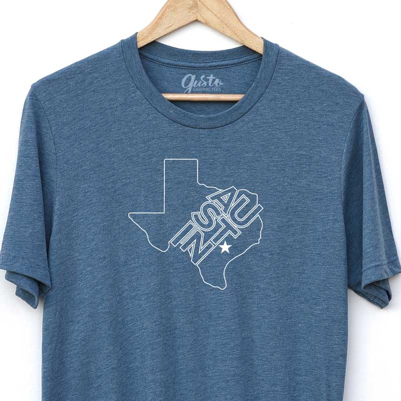 Austin Texas Star T-shirt