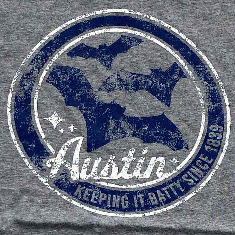 Keep Austin Batty T-shirt by Gusto Graphic Tees, Austin Bats  t shirt by Gusto Graphic Tees, bat graphic tee, Austin bat tee, bat bridge Austin Texas, austin texas t shirt, texas graphic tee, texas graphic t shirt, texas tee, austin t shirt, texas t shirt, graphic tee, graphic t shirt, cool graphic t shirt, cool t shirt, cool graphic tee