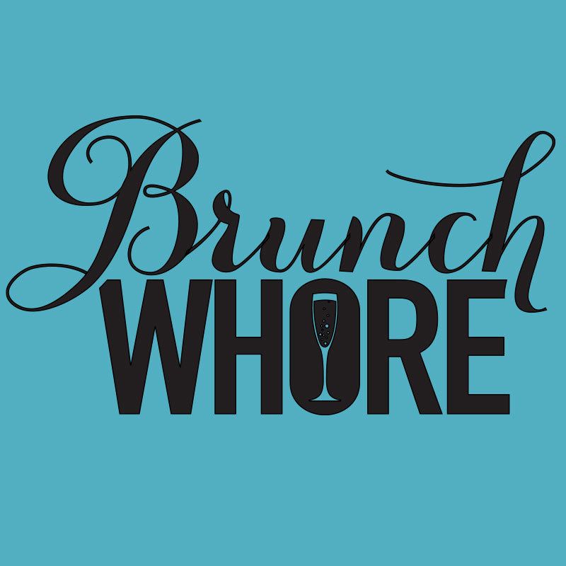 Brunch Whore Graphic Women's Racerback Tank