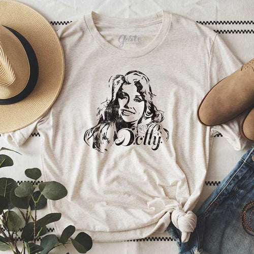 Dolly Parton t-shirt, dolly tee, dolly t-shirt by gusto graphic tees, i love dolly parton