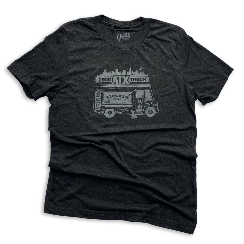 Austin Texas Food Truck t-shirt by gusto graphic tees, food truck, Austin food truck, food trucks in Austin, texas, Austin, texas, food truck