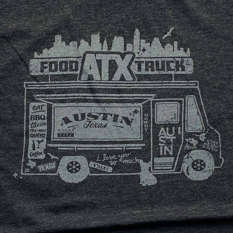 Austin Texas Food Truck t-shirt by gusto graphic tees