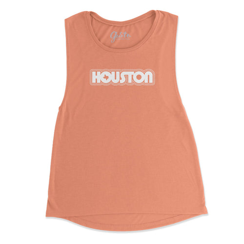 Retro Houston Muscle Tank