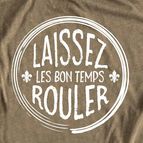 Laissez bon temp rouler gusto graphic tees, cajun Louisiana t-shirt, louisiana t shirt, louisiana tee, cajun t shirt, cajun tee, graphic tee, graphic t shirt, cool graphic t shirt, cool t shirt, cool graphic tee