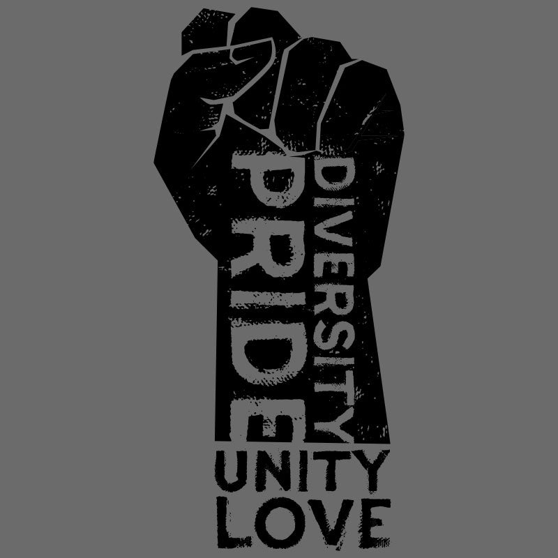 Pride, Diversity, Unity and Love Women's Racerback Tank