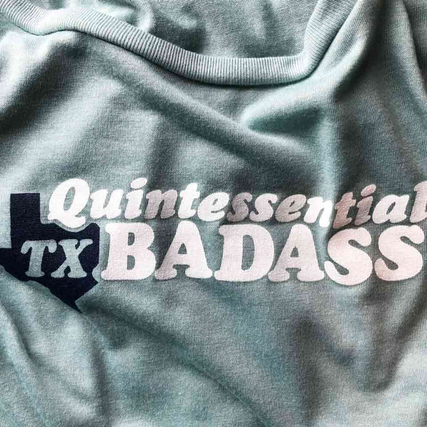 Quintessential TX T-shirt by Gusto Graphic Tees - texas t-shirt