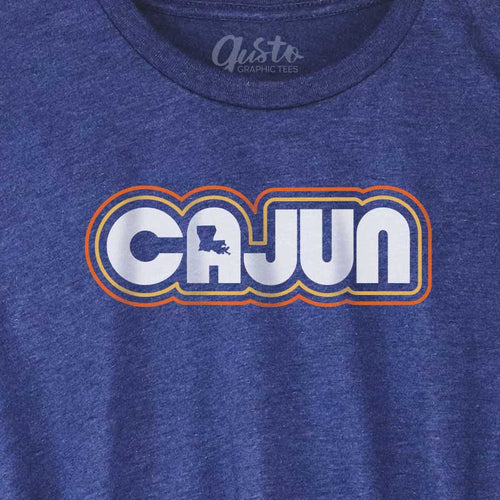 Retro Cajun T-shirt, louisiana t-shirt, cajun t-shirt, cajun pride, ajun Louisiana t-shirt, louisiana t shirt, louisiana tee, cajun t shirt, cajun tee, graphic tee, graphic t shirt, cool graphic t shirt, cool t shirt, cool graphic tee