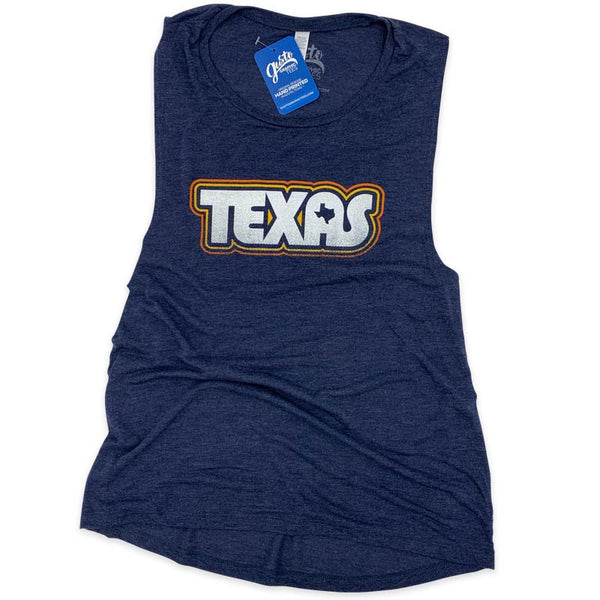 Retro Texas Muscle tank gusto graphic tees
