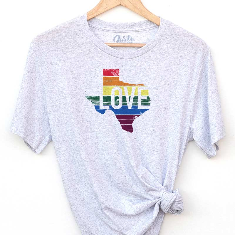 TX Love Rainbow T-shirt