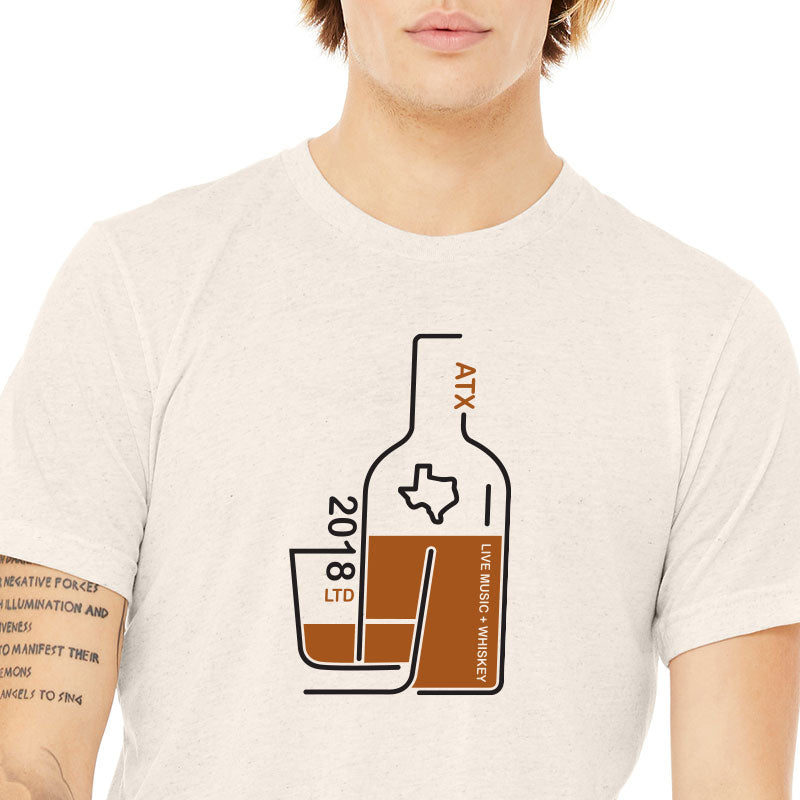 Austin Live Music and Whiskey Graphic T-shirt