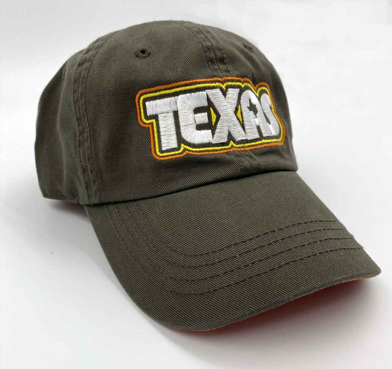 Youth hat, youth cap, texas youth hat, Retro Texas, Austin Texas, texas, youth