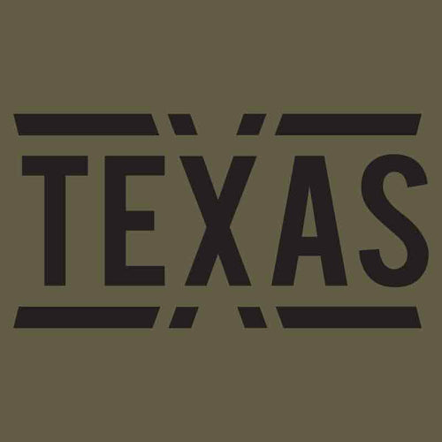 teXas Graphic Unisex Jersey Muscle Tank
