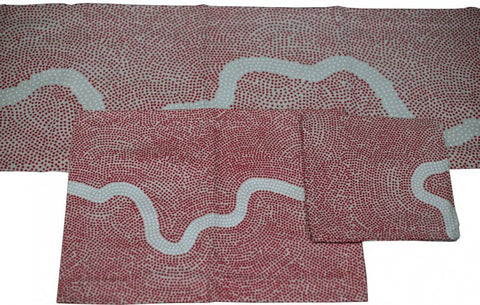 River Red Table Runner