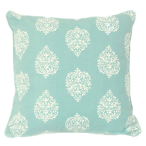 Avalon Sea Green Wash Cushion Cover