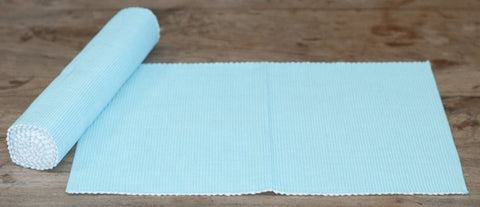 Ice Blue Table Runner