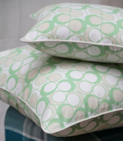 Neea Green Cushion Covers