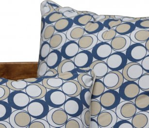 Neea Blue Cushion Cover