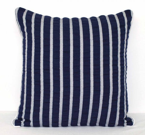 Parker Navy Cushion Cover