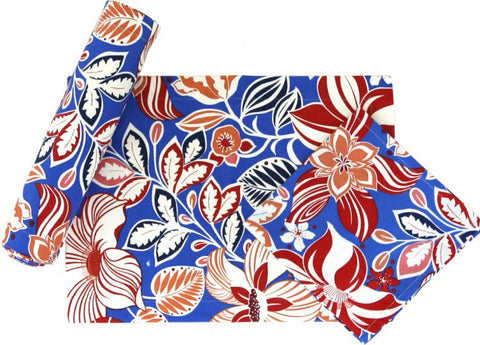 Hibiscus Blue Placemats