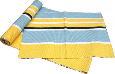Campagne Blue/Yellow Table Runner